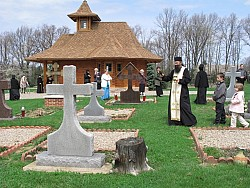 Blessing of Graves on St. Thomas Sunday